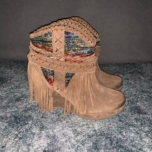 Naughty Monkey Canyon Dream Ankle Bootie